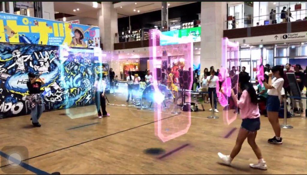 沖縄県最大級のショッピングセンター『イオンモール沖縄ライカム』にてHADOイベントをLegend Sports HEROS様と共催!