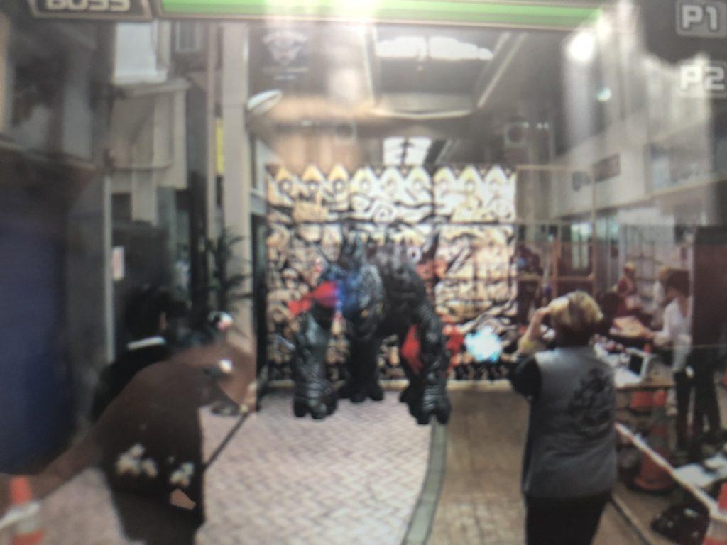 沖縄市コザのアーケード商店街でHADOジャック! お子様からコスプレイヤーまで大興奮!