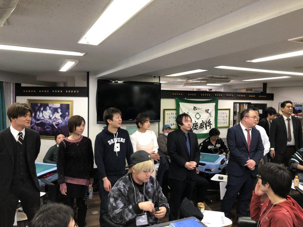 HQ麻雀初の大会イベント、ゲスト7名を含む総勢50人超で開催!