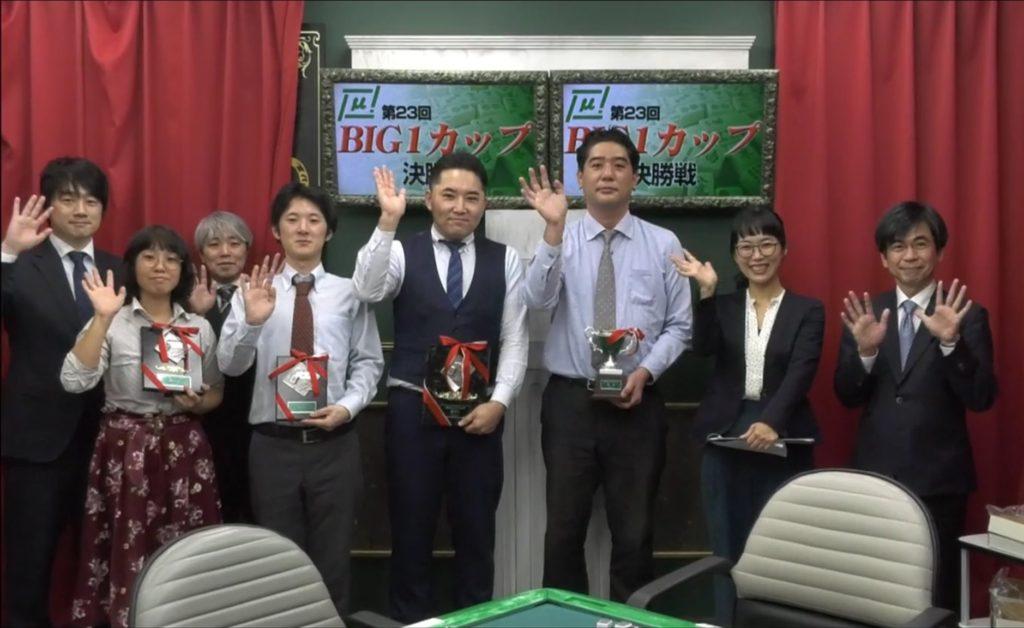 醍醐 大、BIG1カップ優勝で初タイトル獲得!